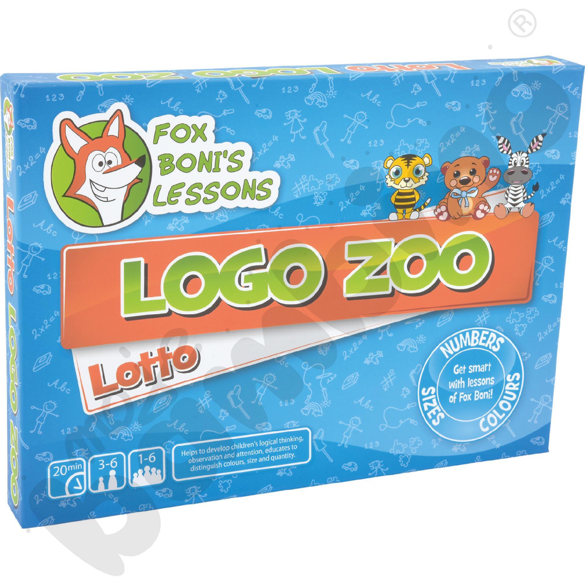 Logiczna układanka Zoo