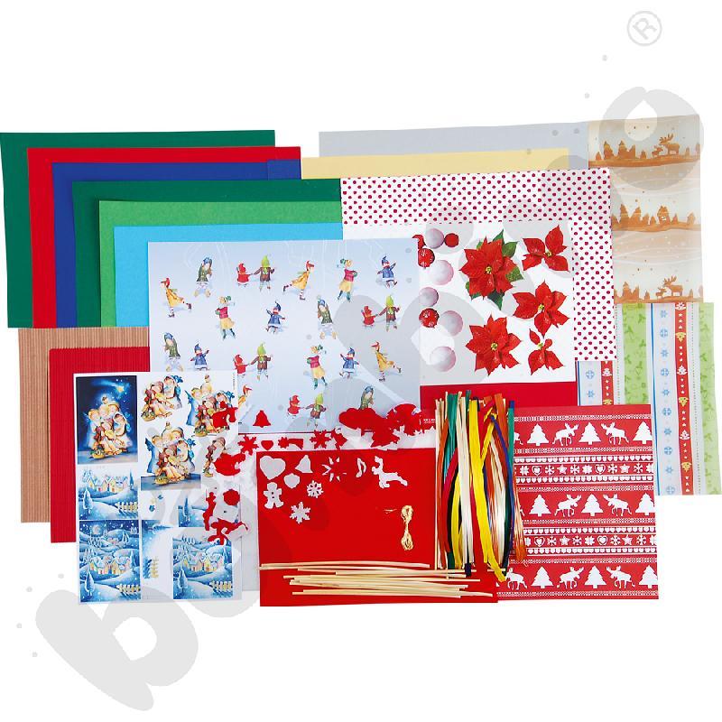 Kuferek Boże Narodzenie - zestaw II