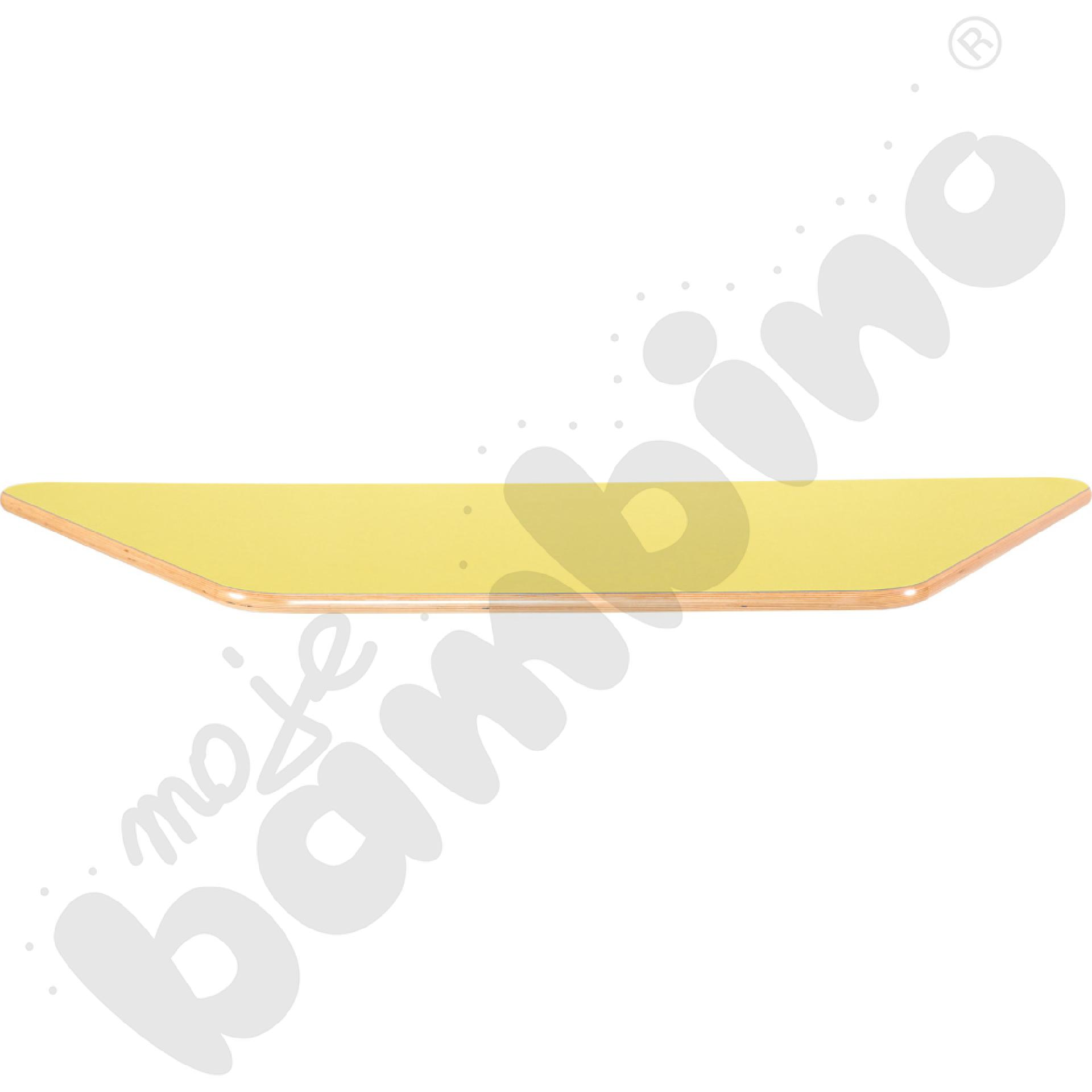 Blat Flexi trapezowy- żółty