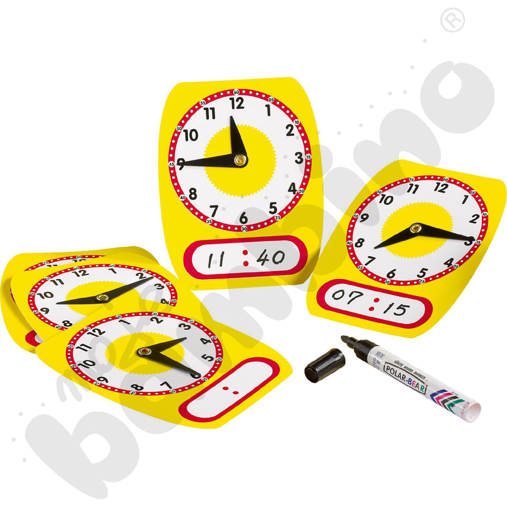 Małe zegary edukacyjne