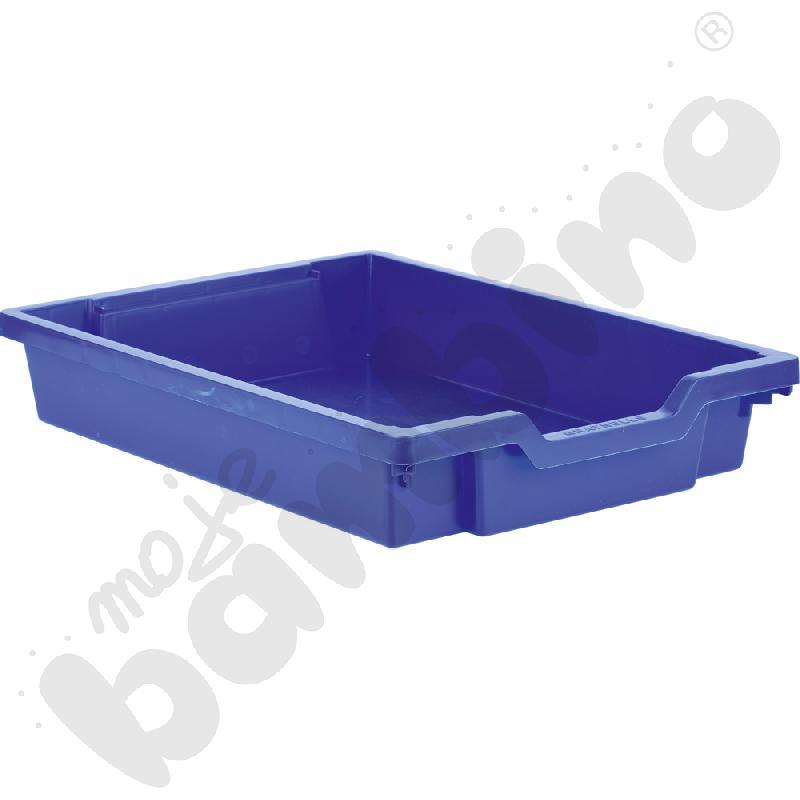 Pojemnik płytki 1 - niebieski