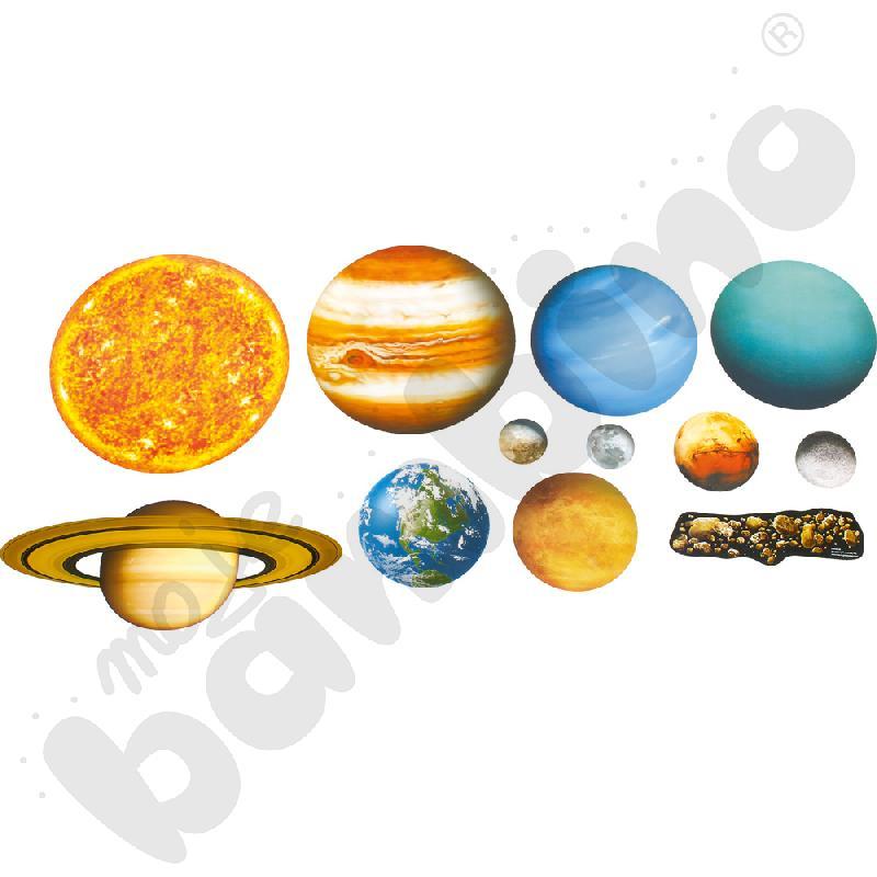 Magnetyczny zestaw Układu Słonecznego