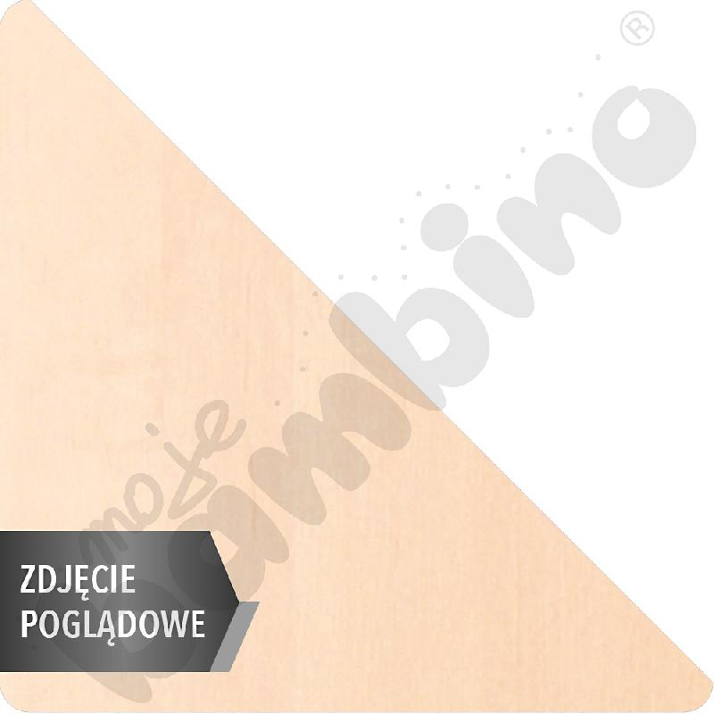 Stół Mila trójkątny, 90 x 90 x 122 cm, rozm. 1 - brzoza
