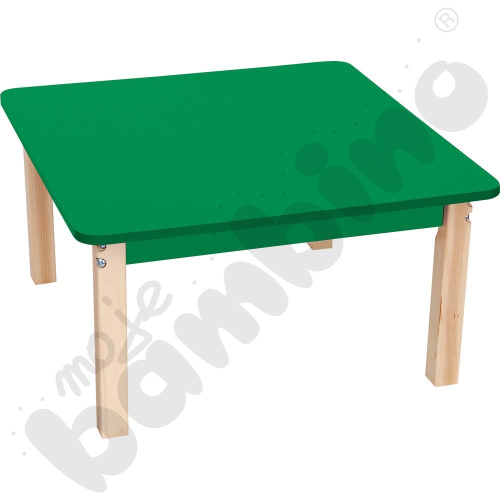 Blat kwadratowy zielony