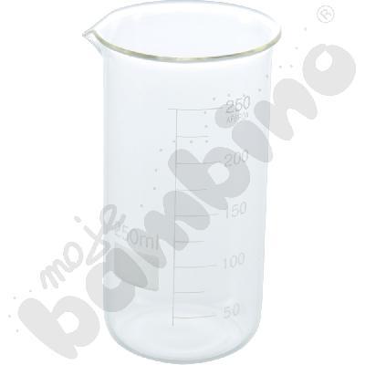 Zlewka wysoka szklana 250 ml, 10 szt.