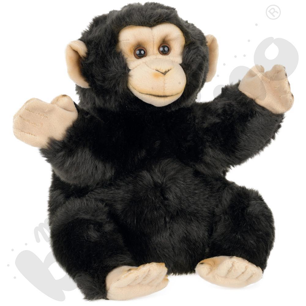 Pluszowa pacynka - małpa