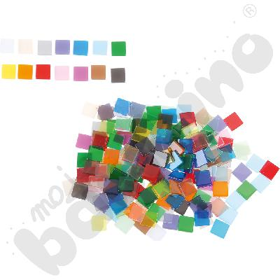 Transparentne kamyczki - mozaika