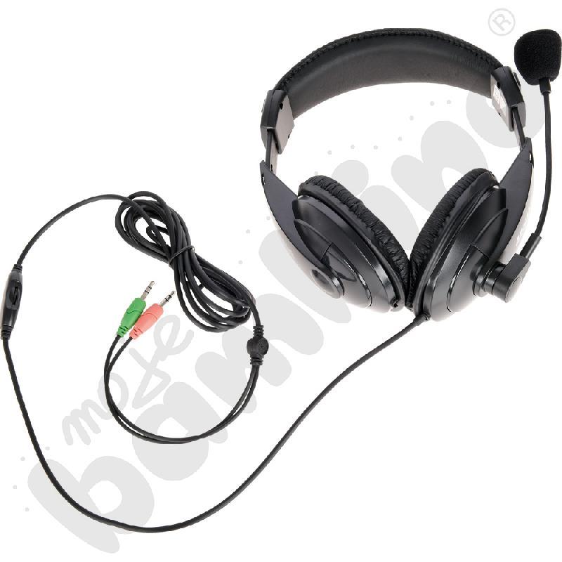 Słuchawki stereofoniczne z...