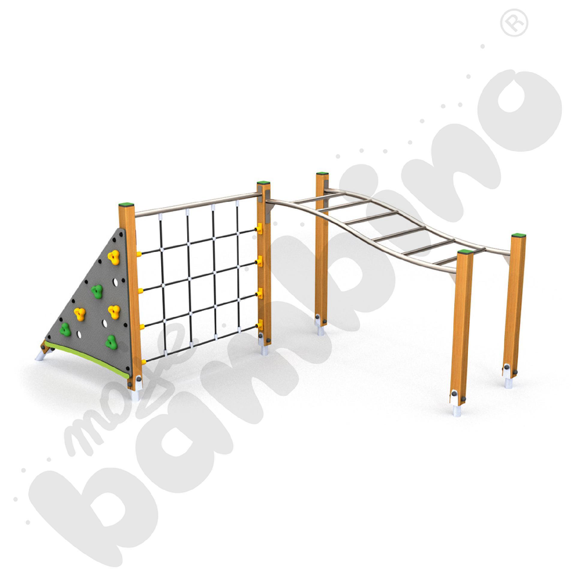 Zręcznościowy plac zabaw Eco