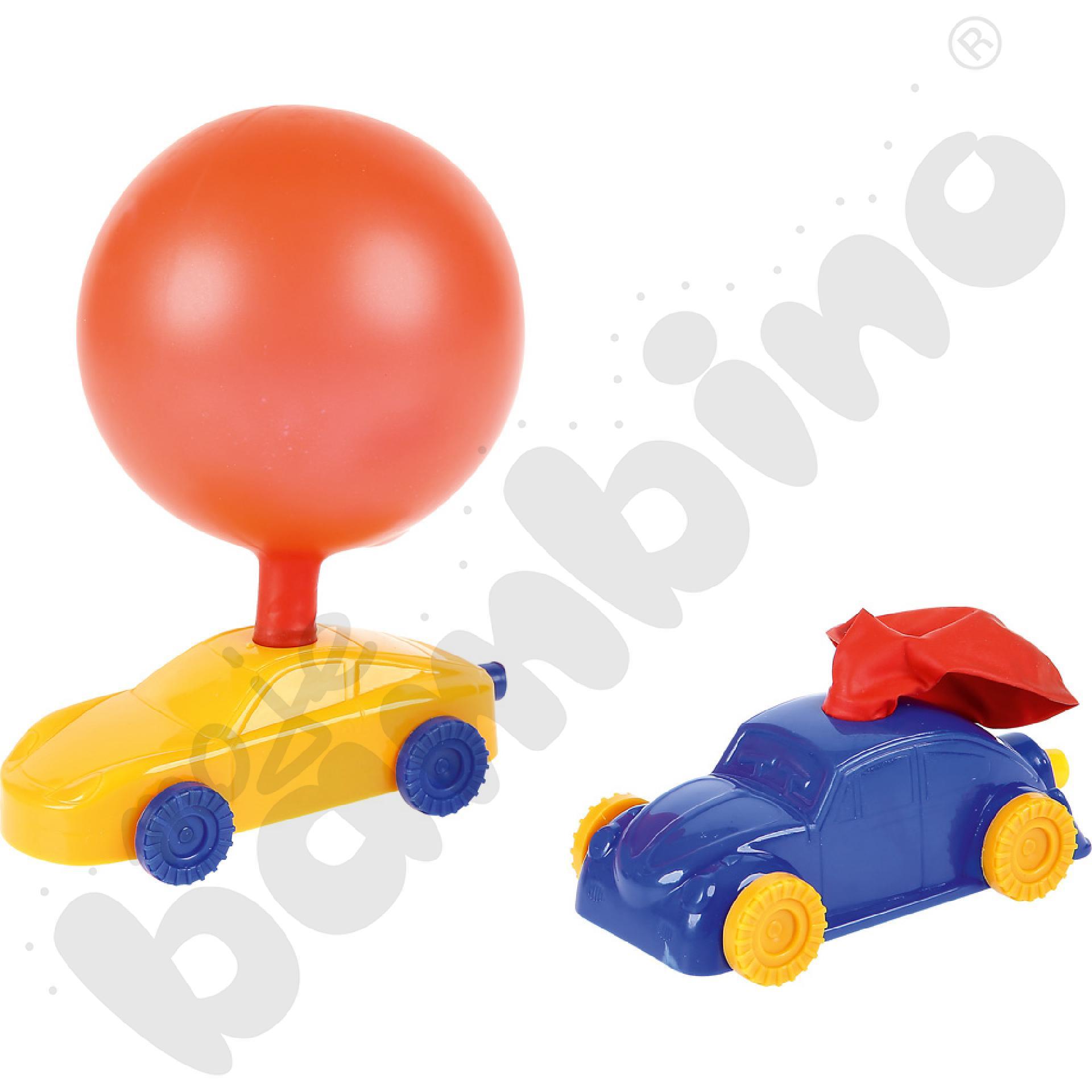 Balonowa wyścigówka