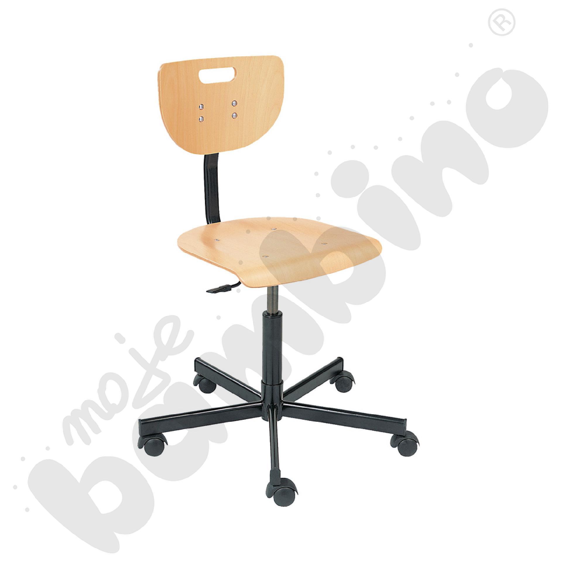 Krzesło Verek black