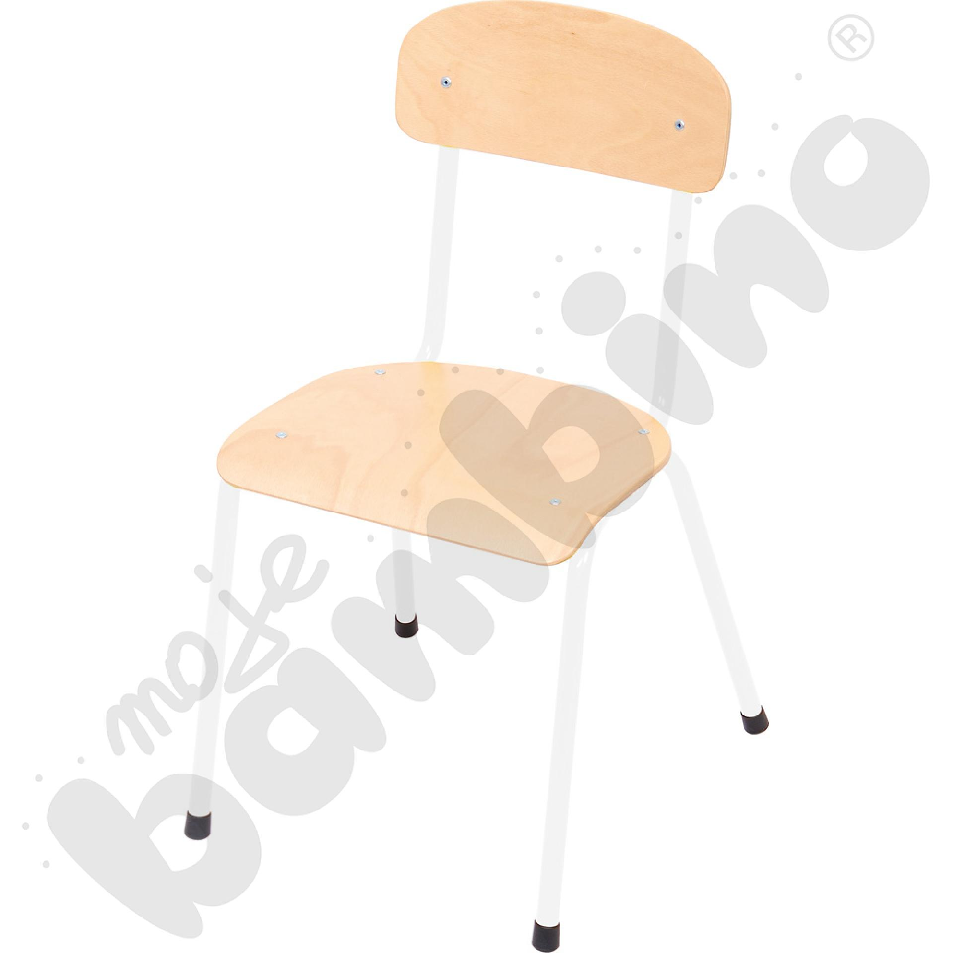 Krzesło Bambino rozm. 3 białe