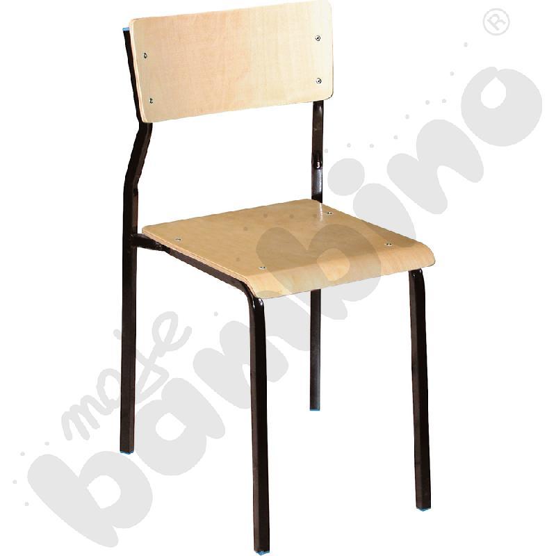 Krzesło B rozm. 6 czarne