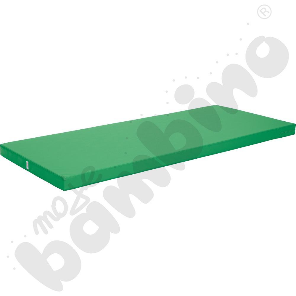 Materac antypoślizgowy wym. 200 x 85 x 8 cm zielony
