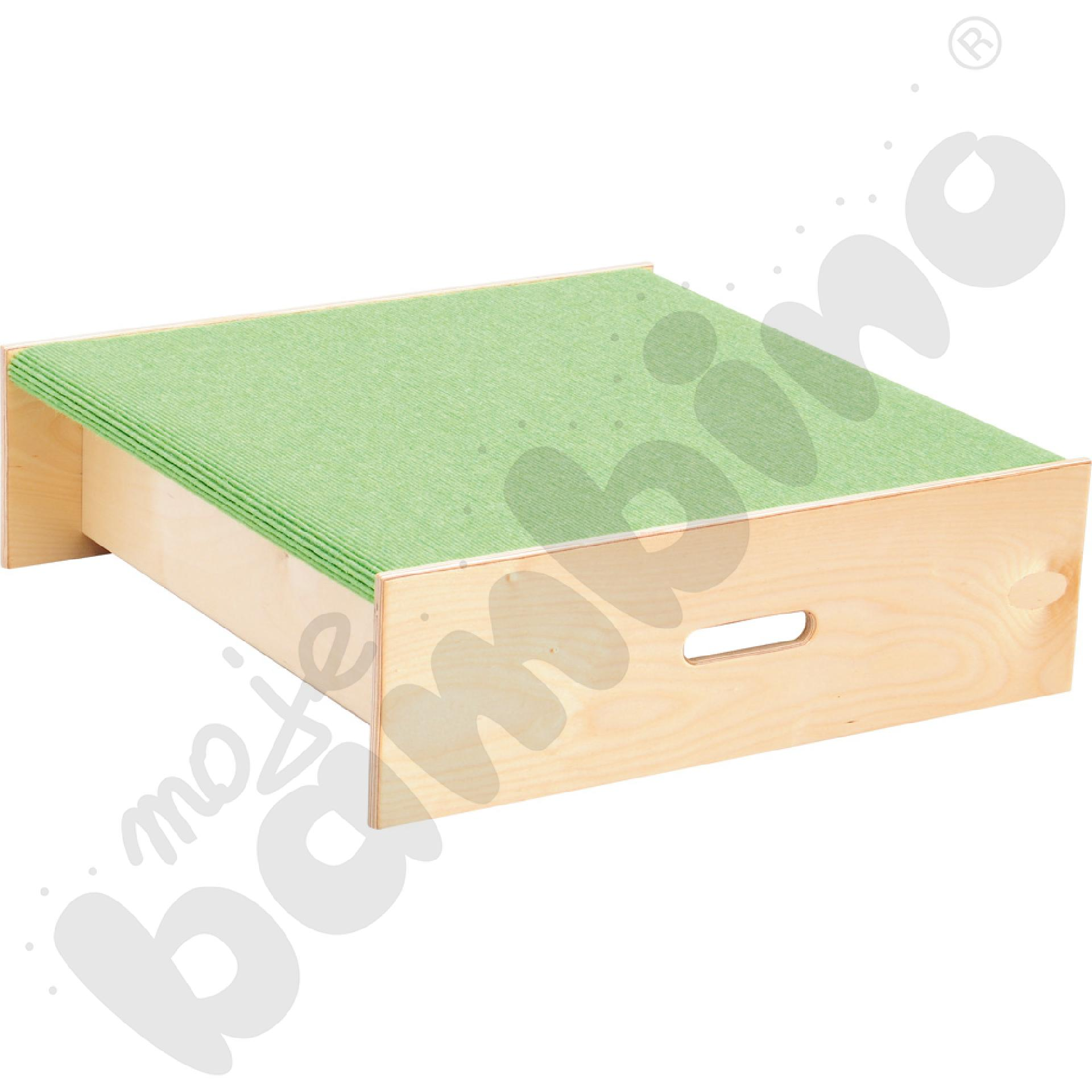 Podest kwadrat - wys. 20 cm jasnozielony