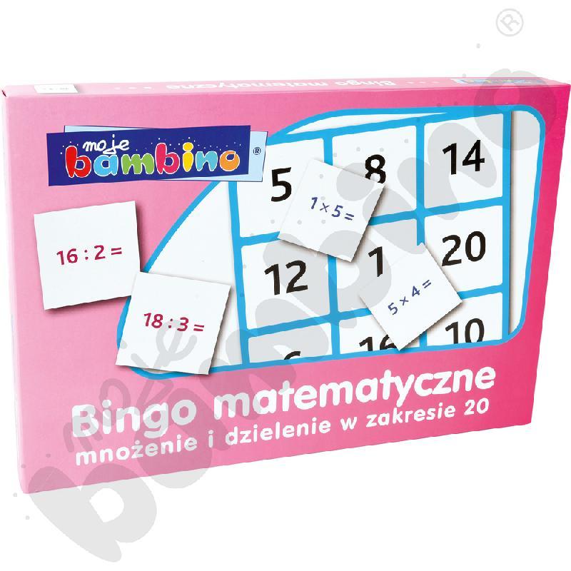 Bingo mnożenie i dzielenie w zakresie 20