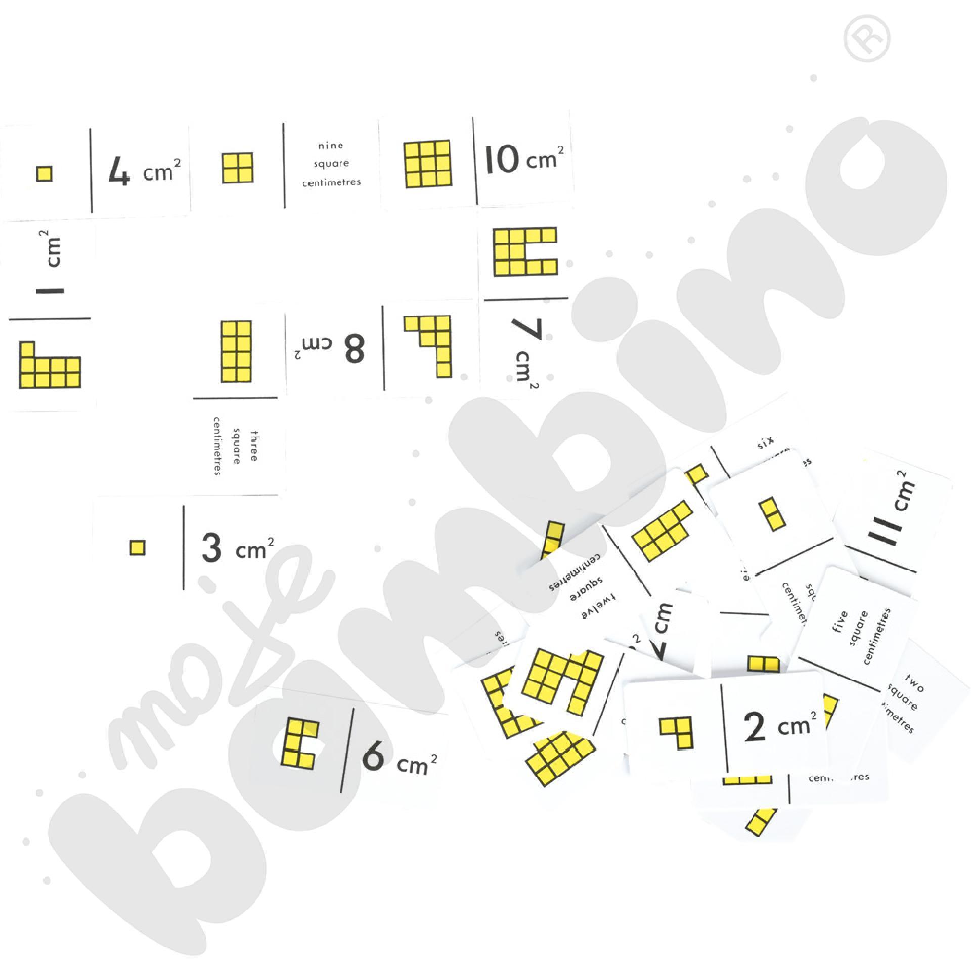 Domino - powierzchnia