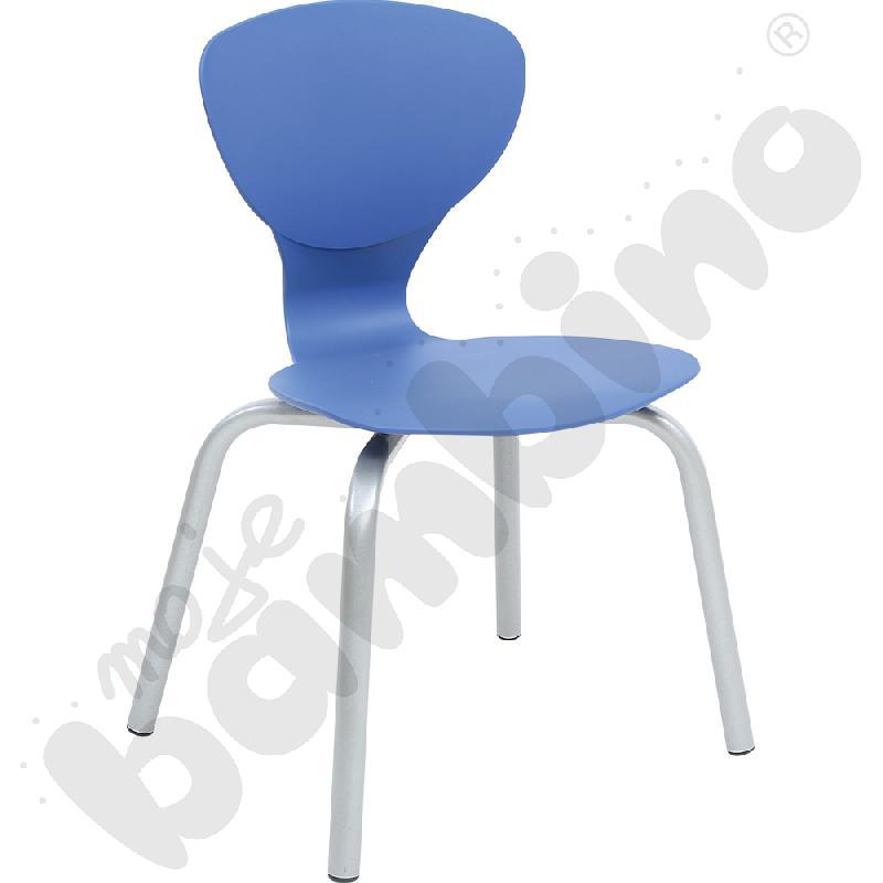 Krzesło Flexi niebieskie...
