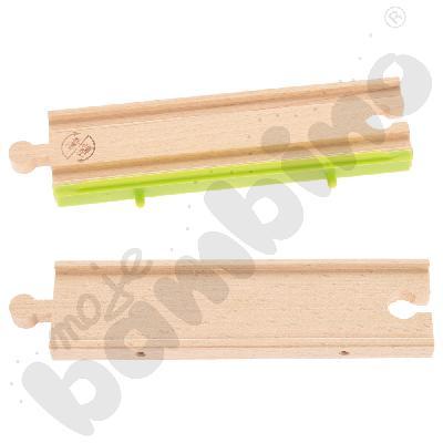 Drewniane tory - uzupełnienie 18, podwójne tory