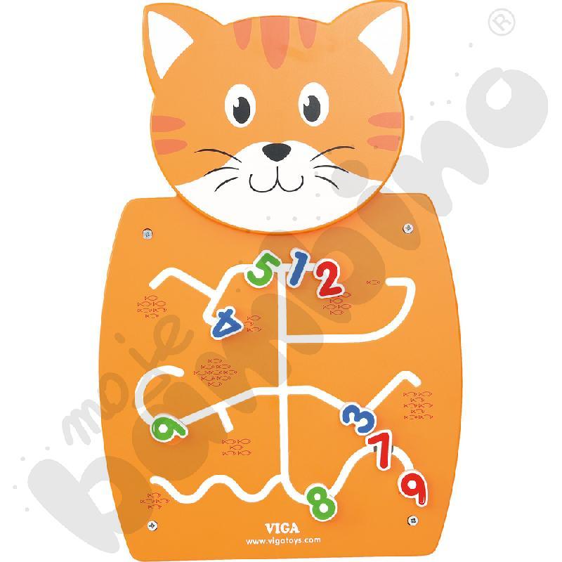 Tabliczka ścienna - kotek