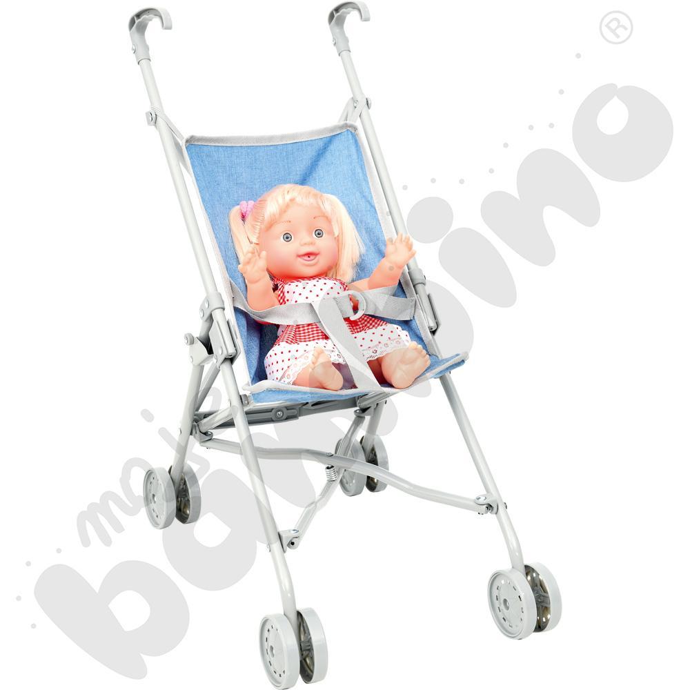 Wózek z lalką - zestaw Helenki