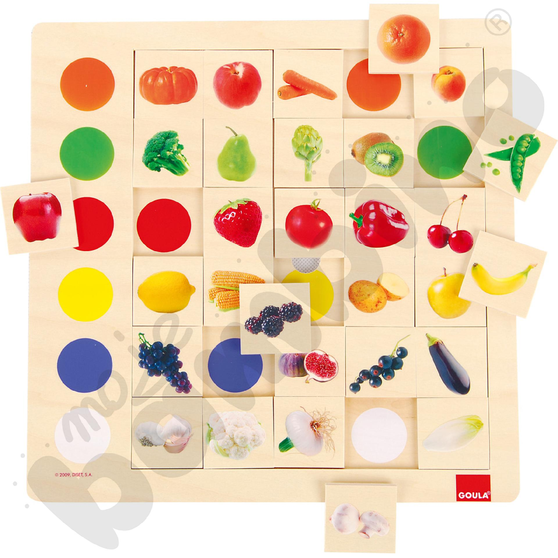 Kolory - owoce i warzywa