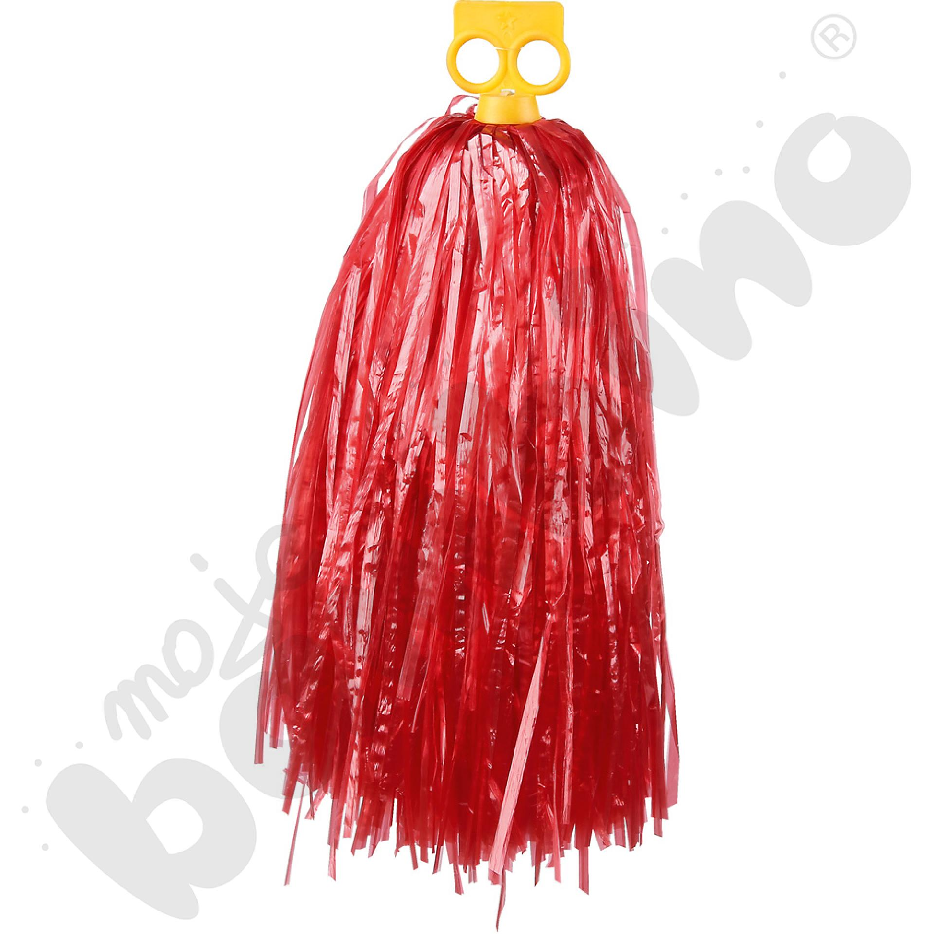 Pompon mały - czerwony