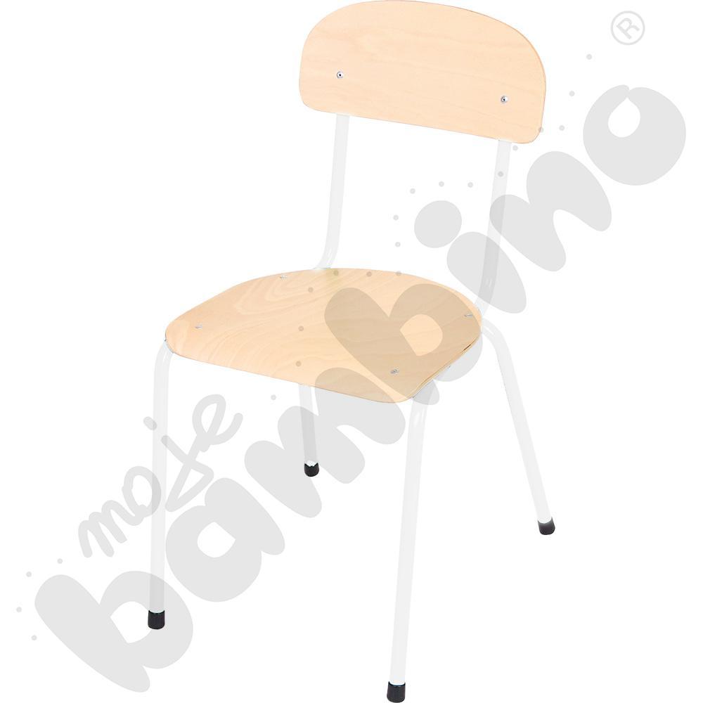 Krzesło Bambino rozm. 5 białe
