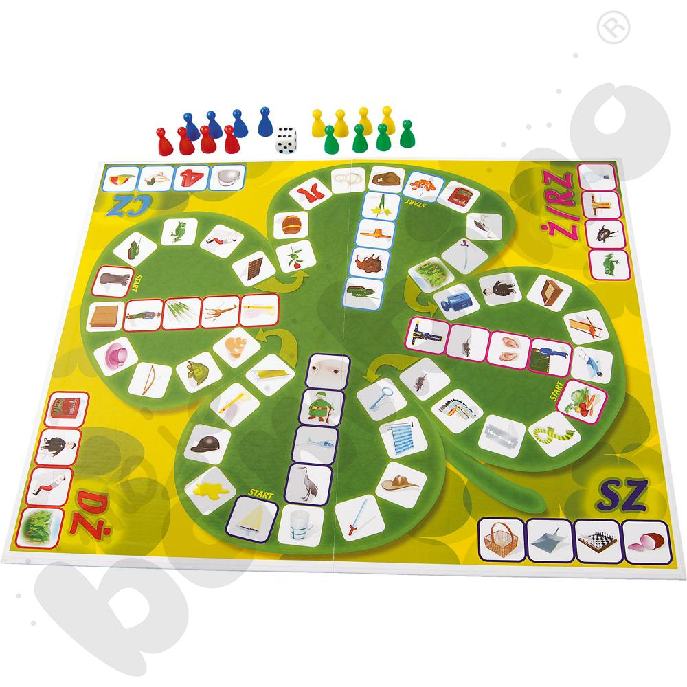 Gra planszowa Ślimak - czterolistna koniczynka