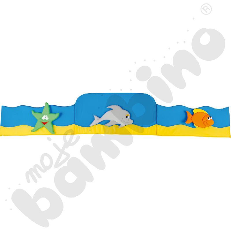 Osłonka do łóżeczka niemowlęcego ocean