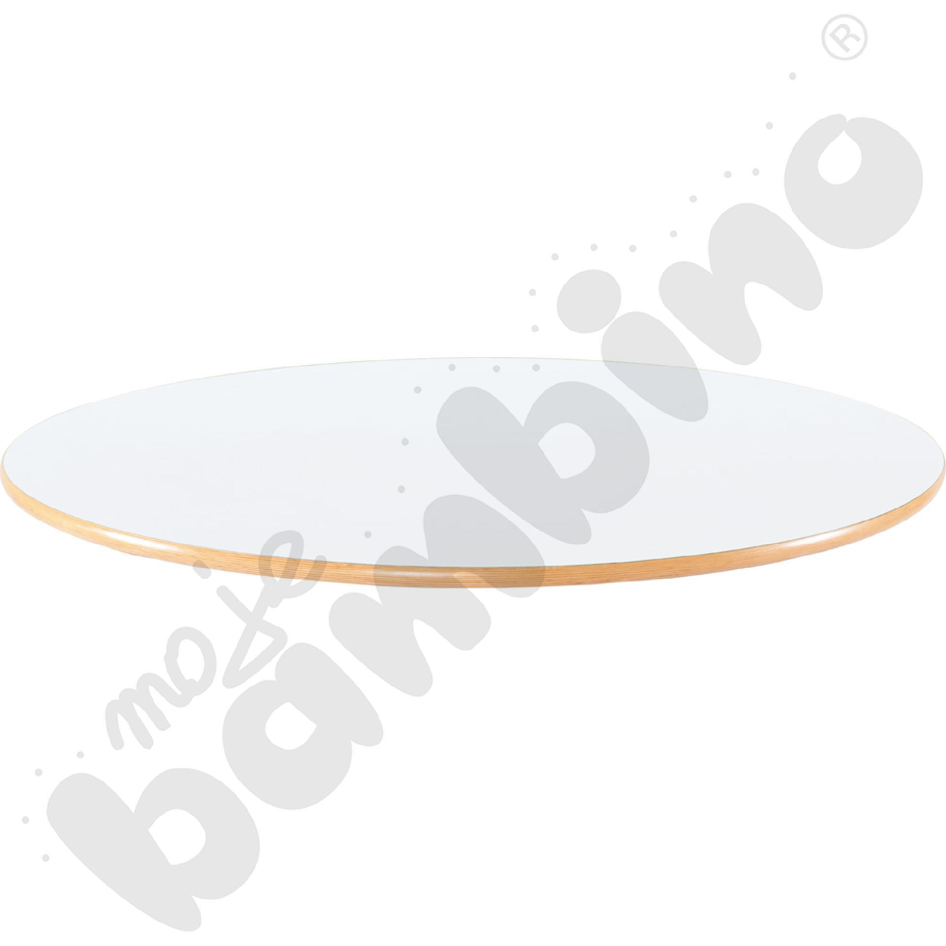 Blat Flexi okrągły - biały