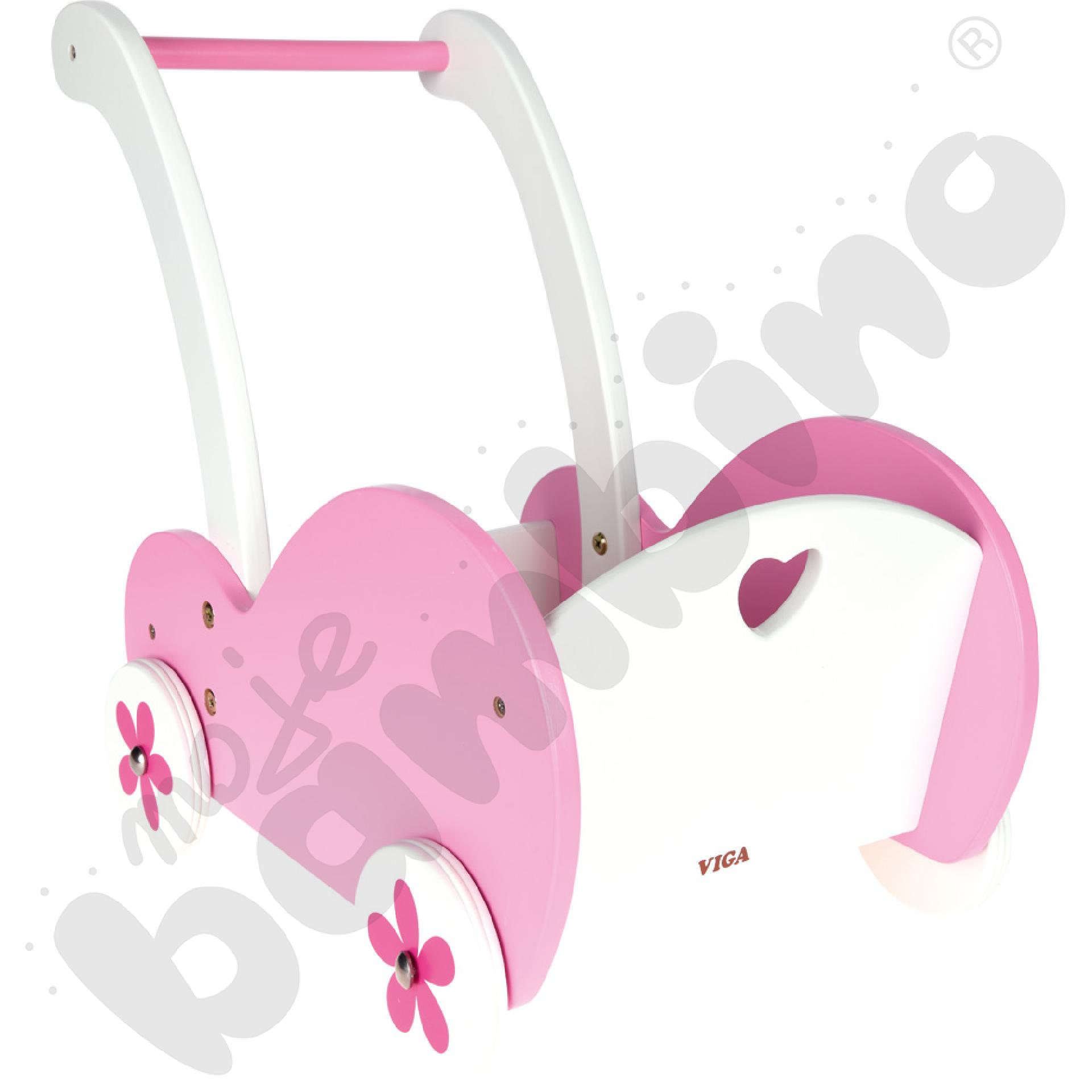 Wózek pchacz dla lalek
