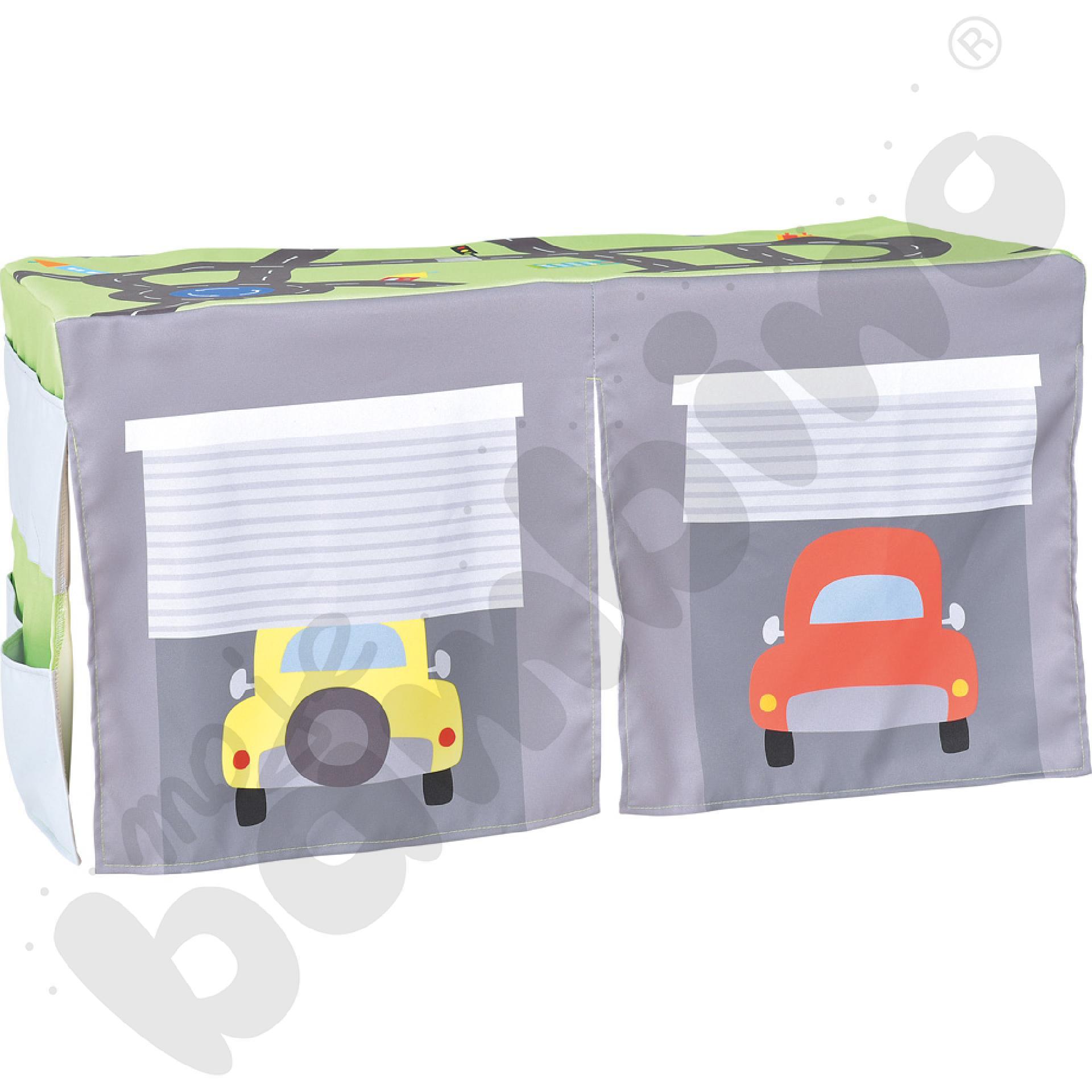 Quadro - kącik małego kierowcy - nakrycie na szafkę