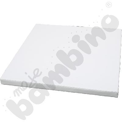 Biały materac