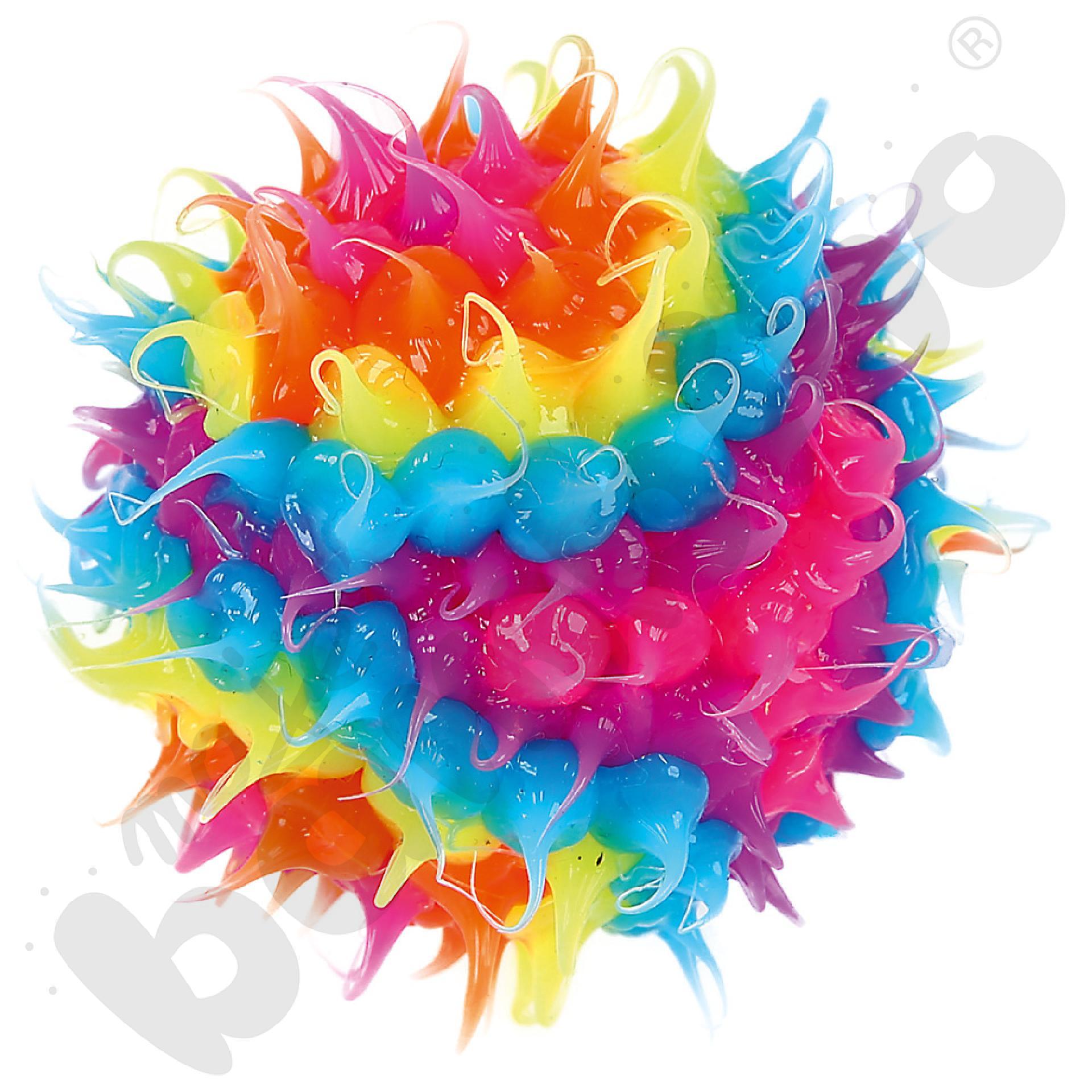 Kolorowa mini piłeczka z wypustkami