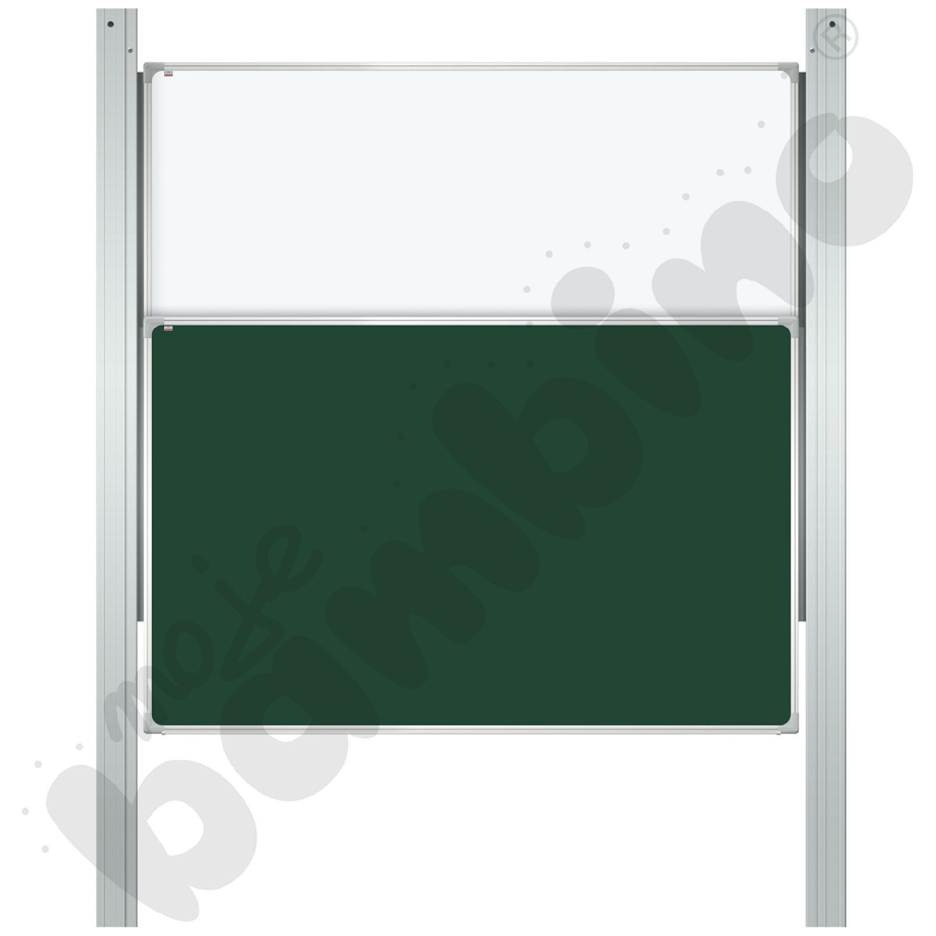 Tablica kolumnowa kredowa - suchościeralna, 200 x 120 cm