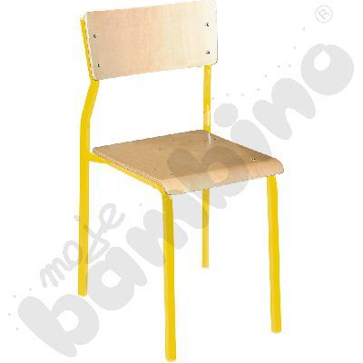 Krzesło B rozm. 6 żółte