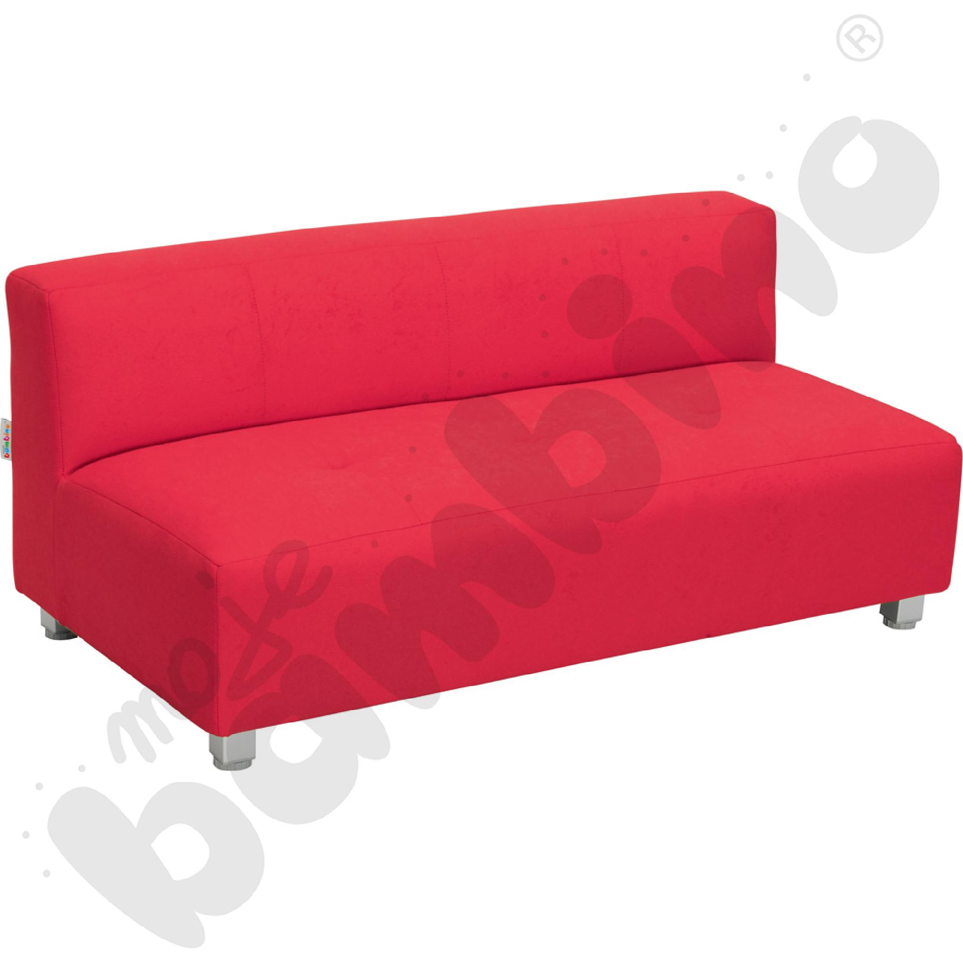 Kanapa duża - czerwona wys....