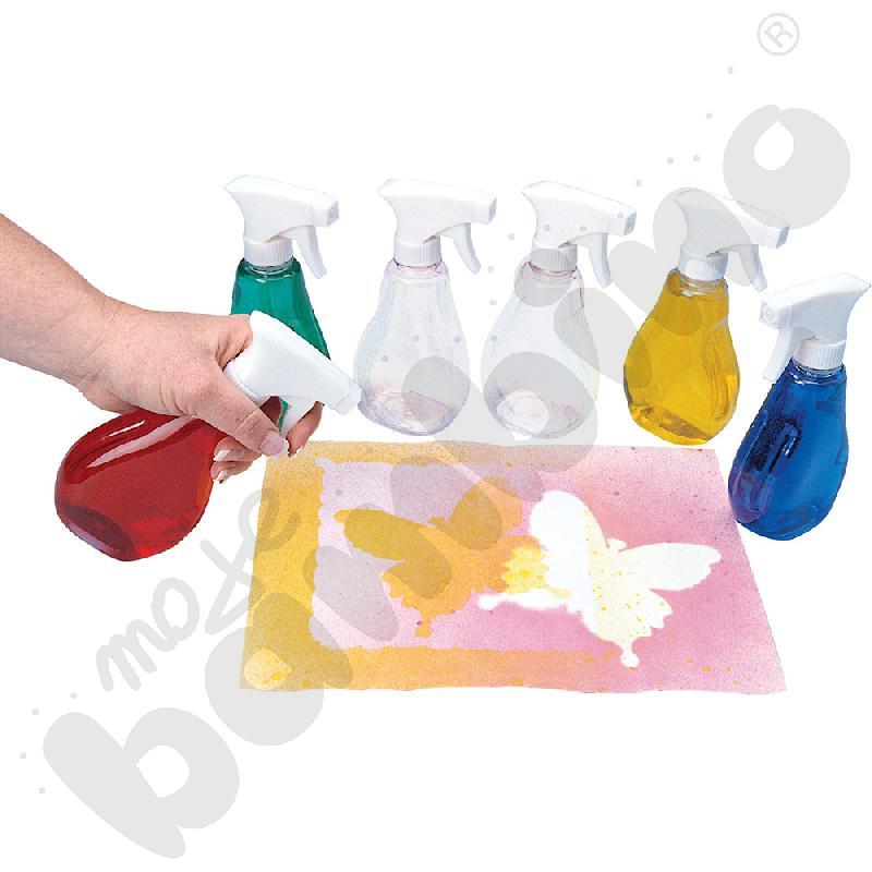 Buteleczki do farb – spray