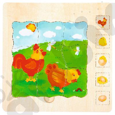 Puzzle 5-warstwowe kurki