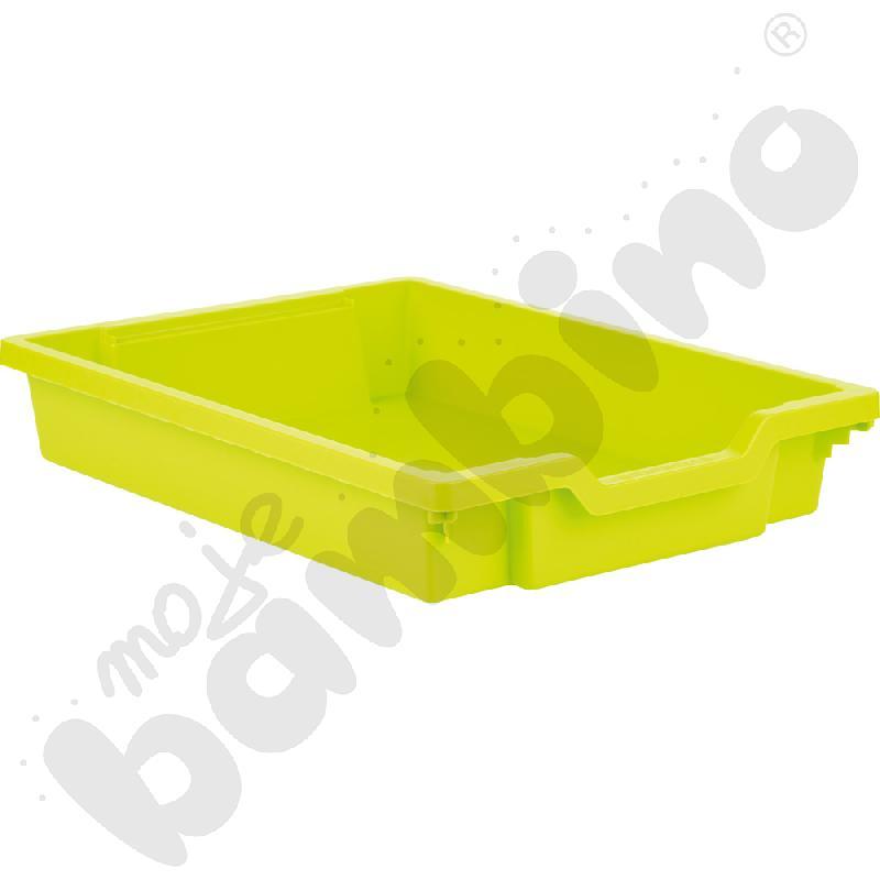 Pojemnik płytki 1 - limonka