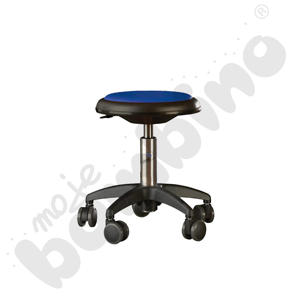 Krzesło Genito, wys. 38-48 cm - niebieskie