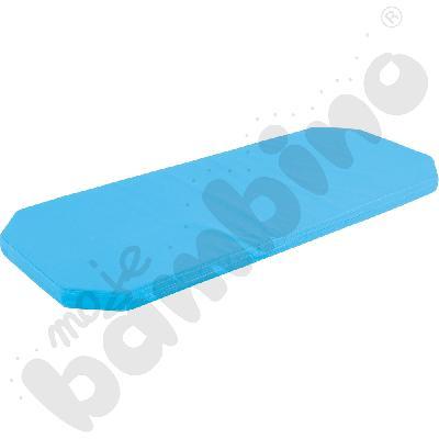 Materac do łózczeka 501004 niebieski