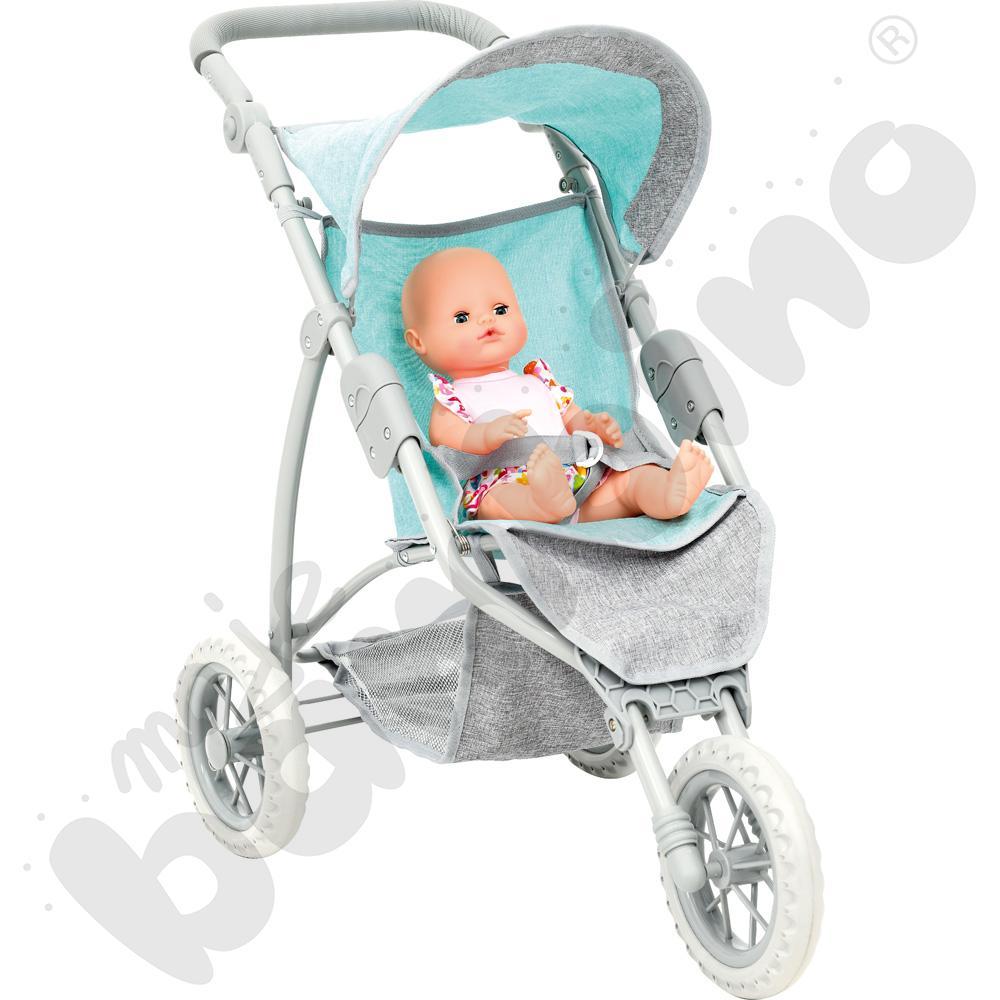 Wózek z lalką - zestaw Ady