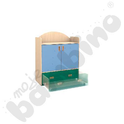 SANLANDIA PLUS szafka z szufladą na kółkach i 1 półką