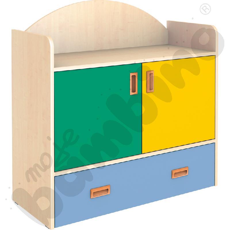 SANLANDIA szafka z szufladą na kółkach