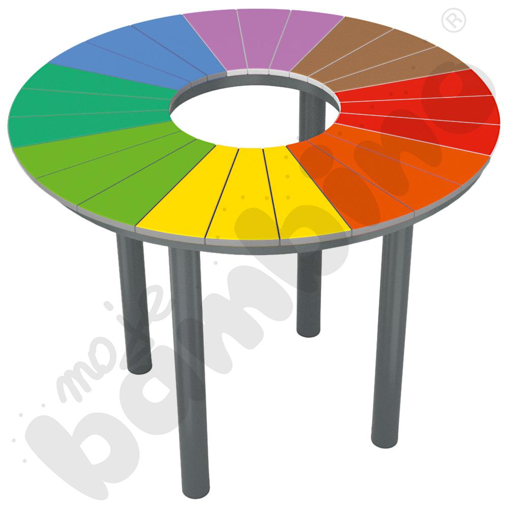 Stół Tęcza okrągły