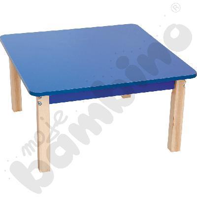 Blat kwadratowy niebieski