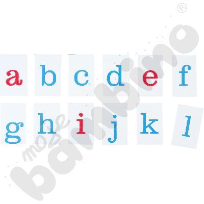 Alfabet - małe litery