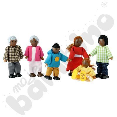 Rodzina afrykańska - lalki
